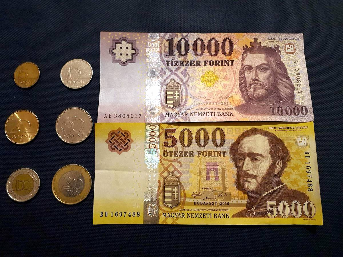 The currency of Hungary is the forint