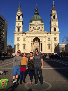 Budapest Private Tour on bike - ended in front of the St. Stephen Basilica