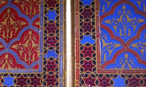 A detail of the Rumbach synagogue - Jewish Tour Budapest