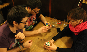 How to solve the Rubik's Cube - learn it on the Hungarian Games Night