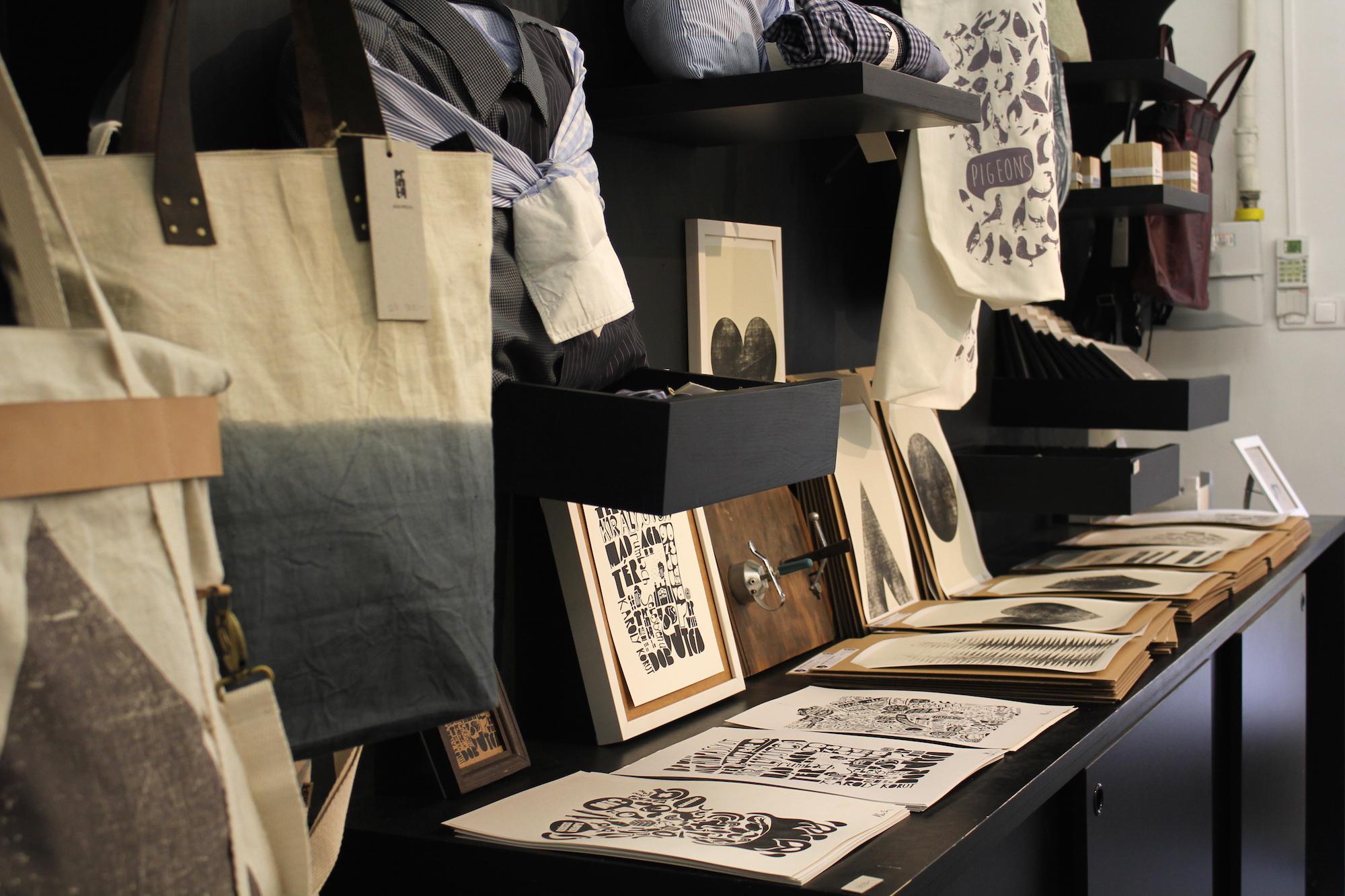 Printa design store, Budapest