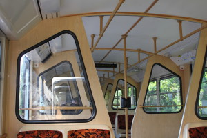 The '70s look of the cog-wheel railway, Budapest