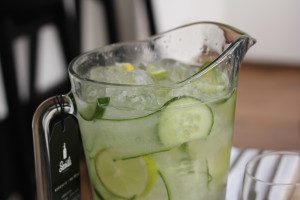 cucumber lime lemonade Esca