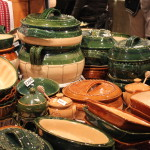 Pottery at the Budapest Christmas Market