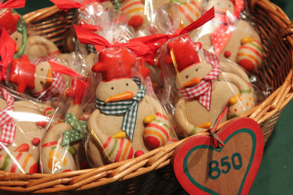 Gingerbread at the Budapest Christmas Market