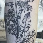 Dandelions - Tattoo by Dorca