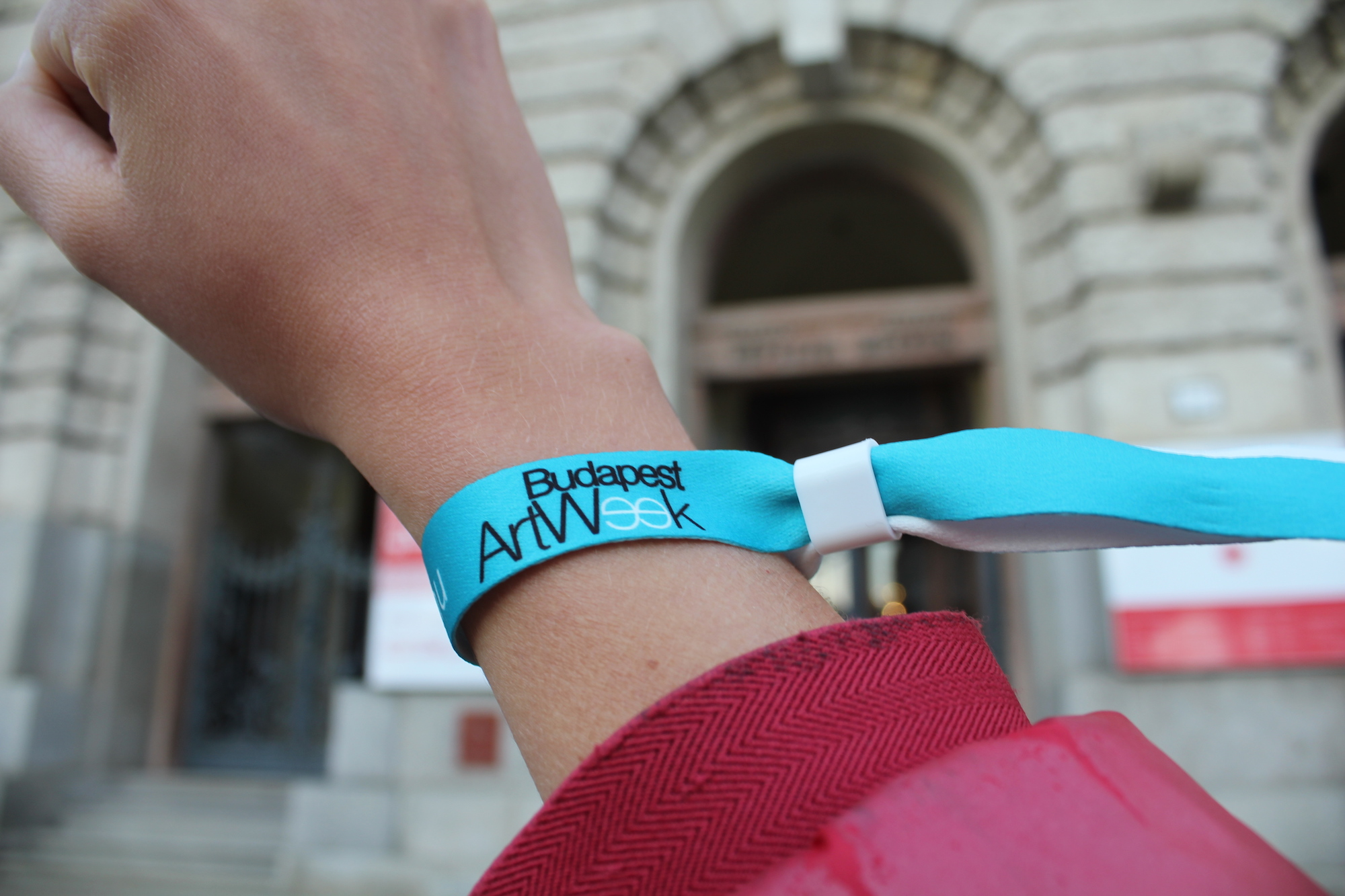 BudapestArtWeek 2016 wristband