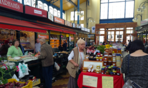 Visit a local market hall