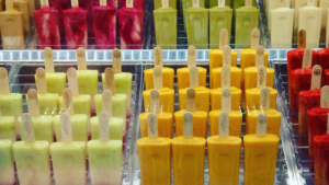 Great and healthy popsicles