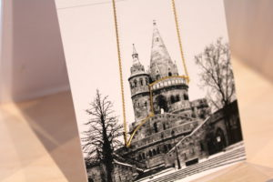 Necklace inspired by the Fisherman's Bastion