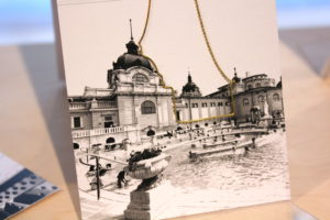 Necklace in the shape of the Széchenyi Baths