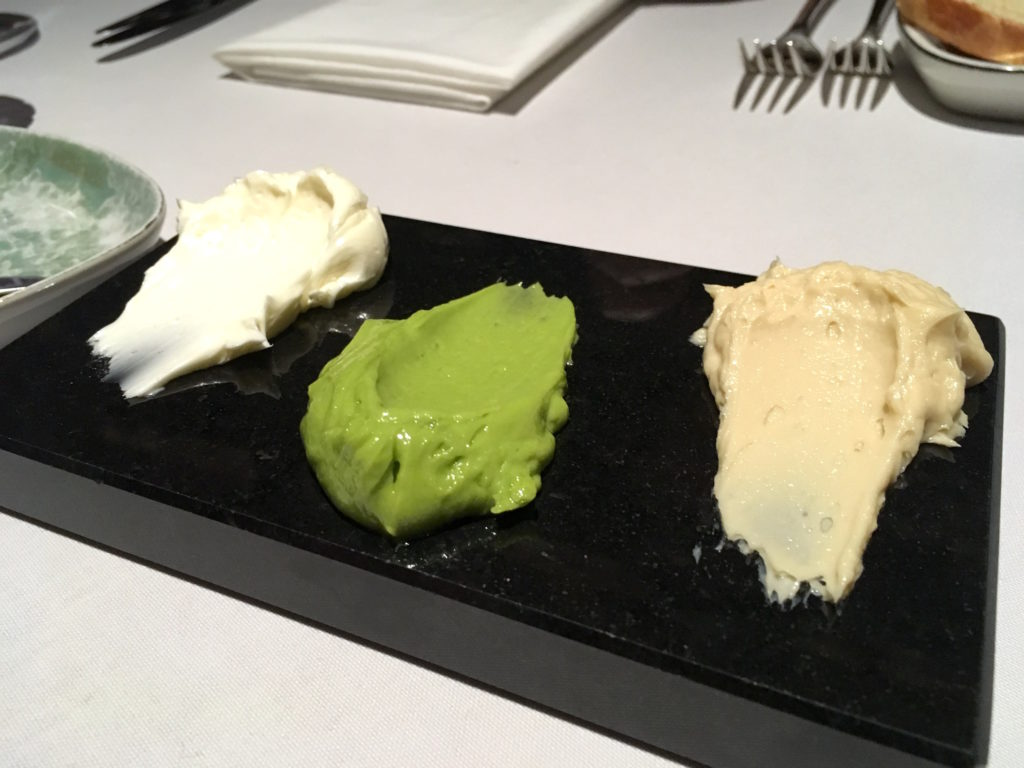 Butter selection at Babel