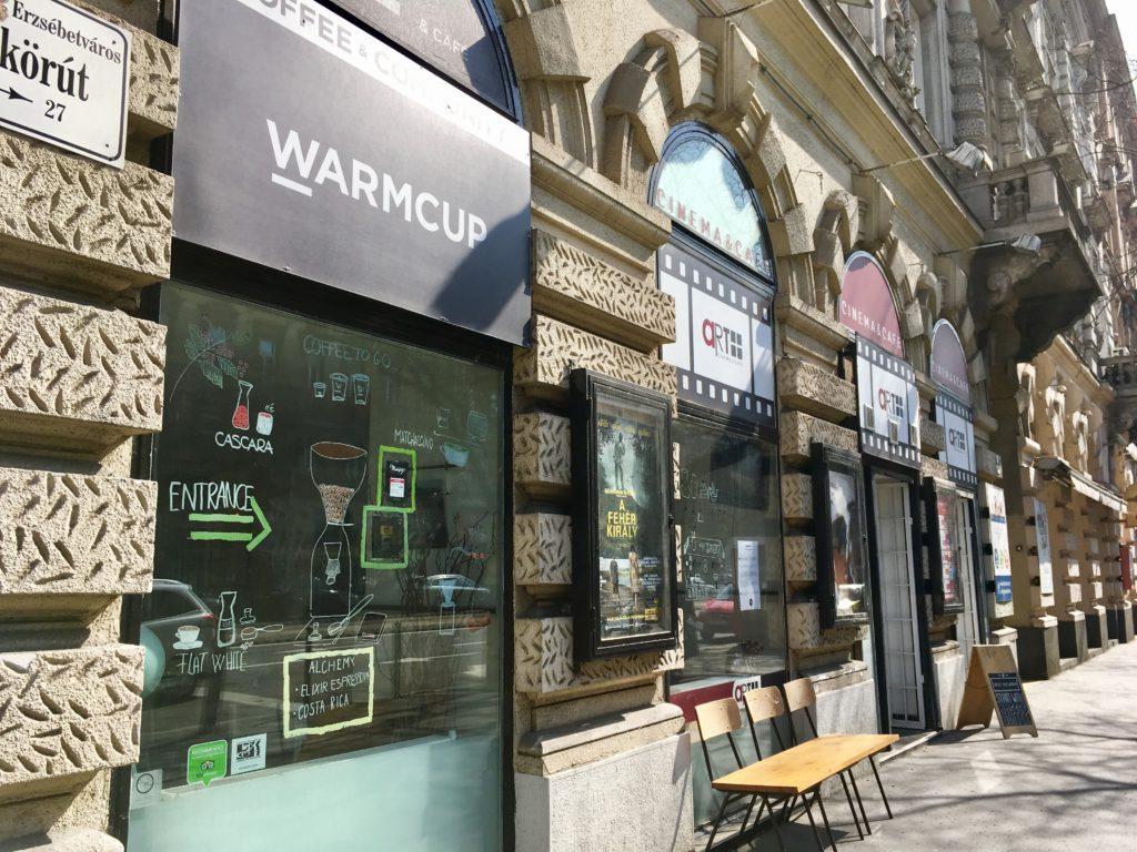 Warmcup entrance