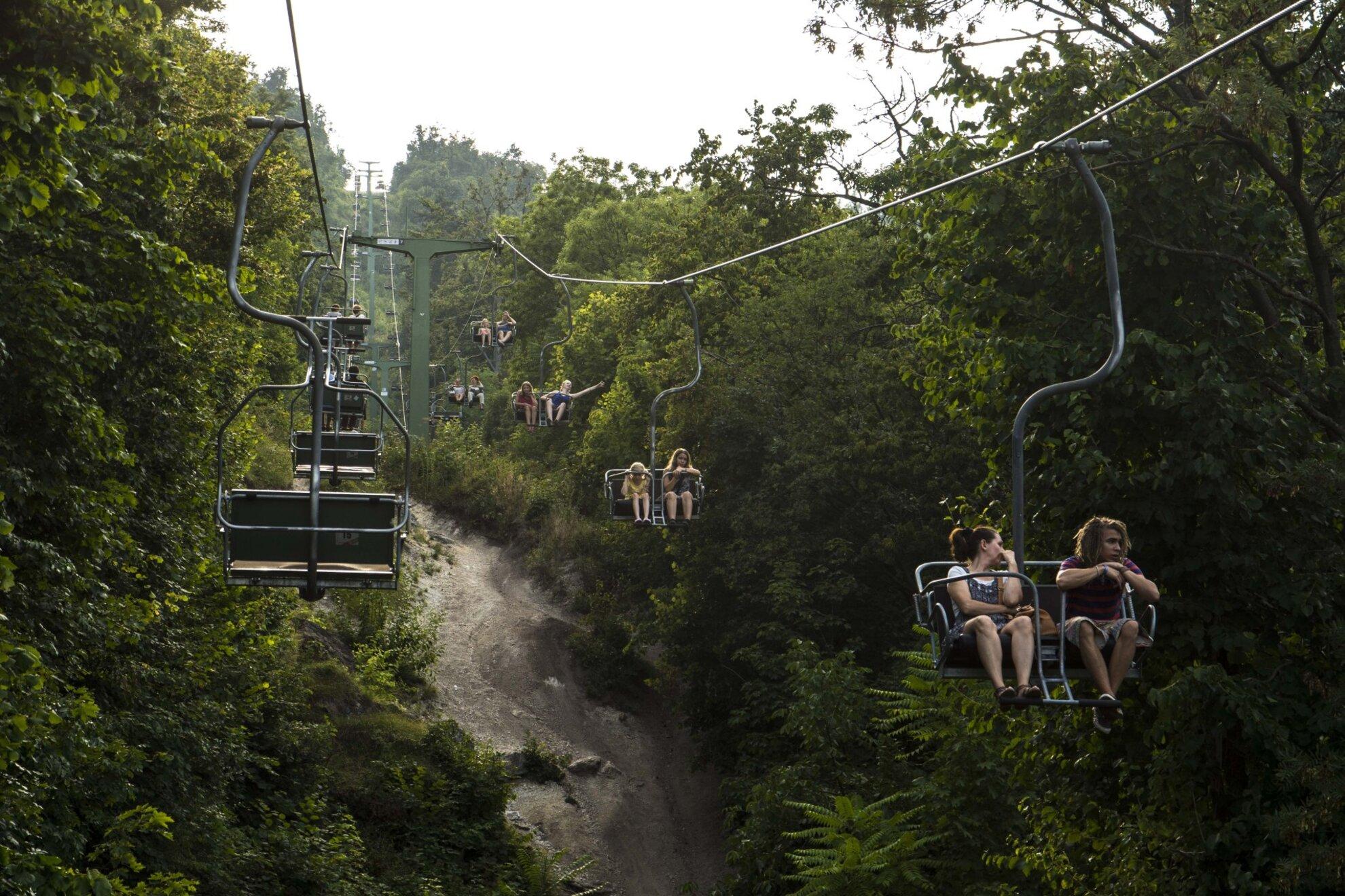 Zugliget Chairlift Buda Hills
