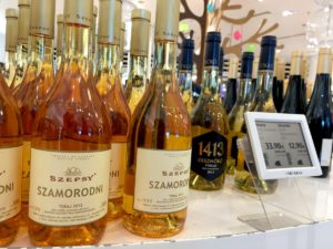 Buy a bottle of Tokaji wine at the Duty Free Shop - the prices are very reasonable
