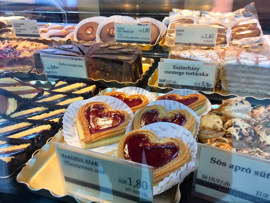 Szamos Pastry Shop at the Budapest Airport