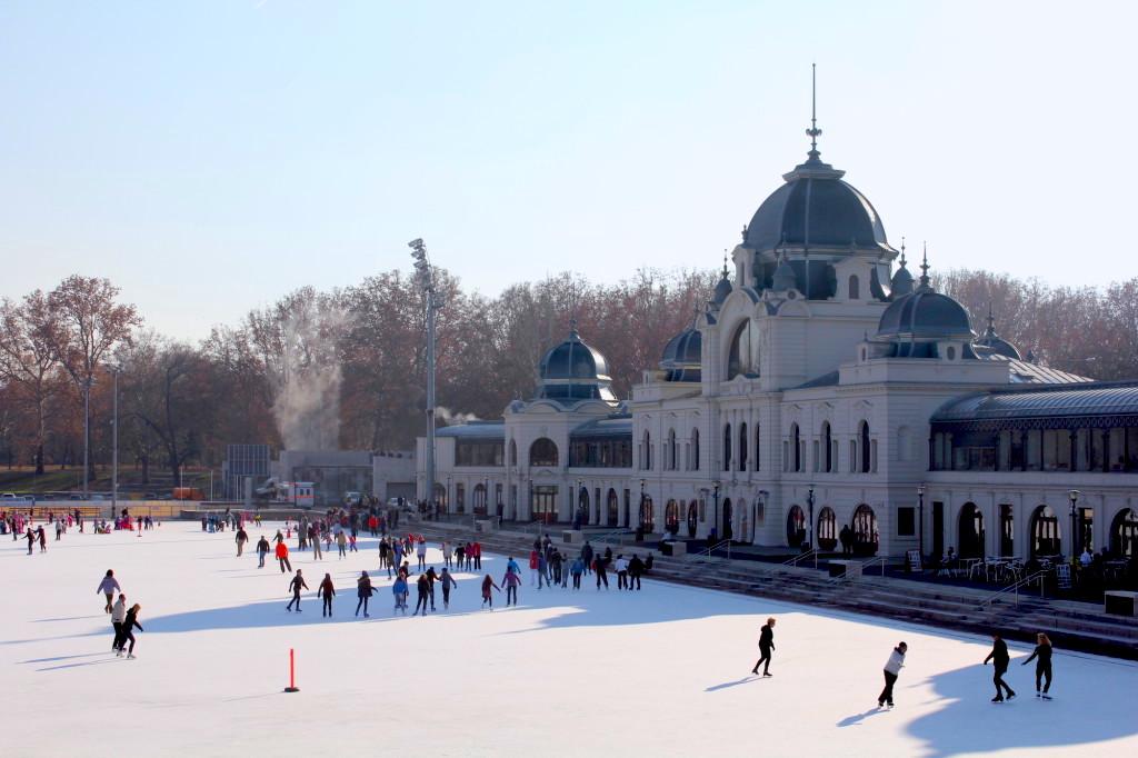 ice skating rink Budapest