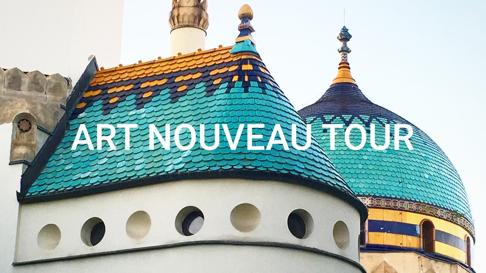 Budapest Art Nouveau Tour