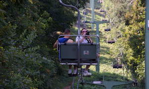 The chairlift of Budapest