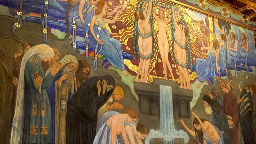 Art Nouveau Tour Budapest - Inside the Franz Liszt Music Academy