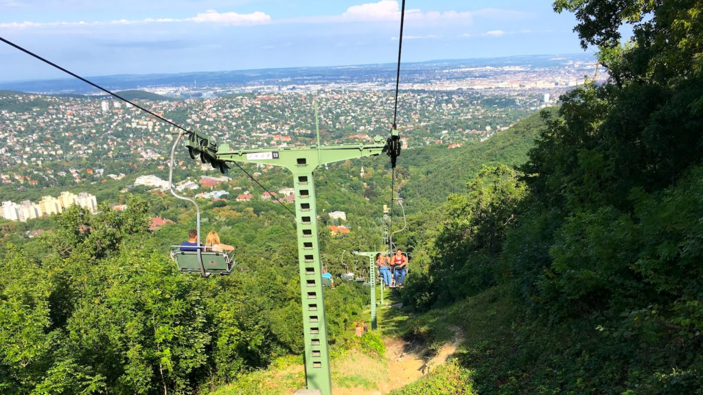 Try the chairlift of the Buda hills on the Transportation Tour with Budapest 101