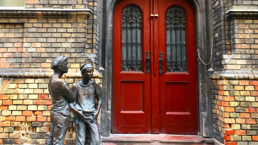 "Hidden Gems of Budapest - sculpture of the famous ""Pál street boys"""
