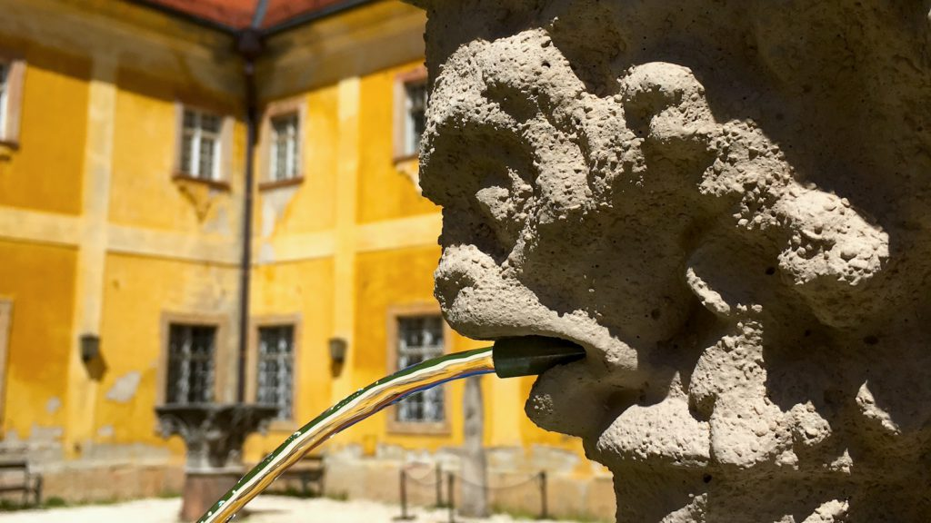 Hidden Gems of Budapest - in the garden of Kiscelli Museum