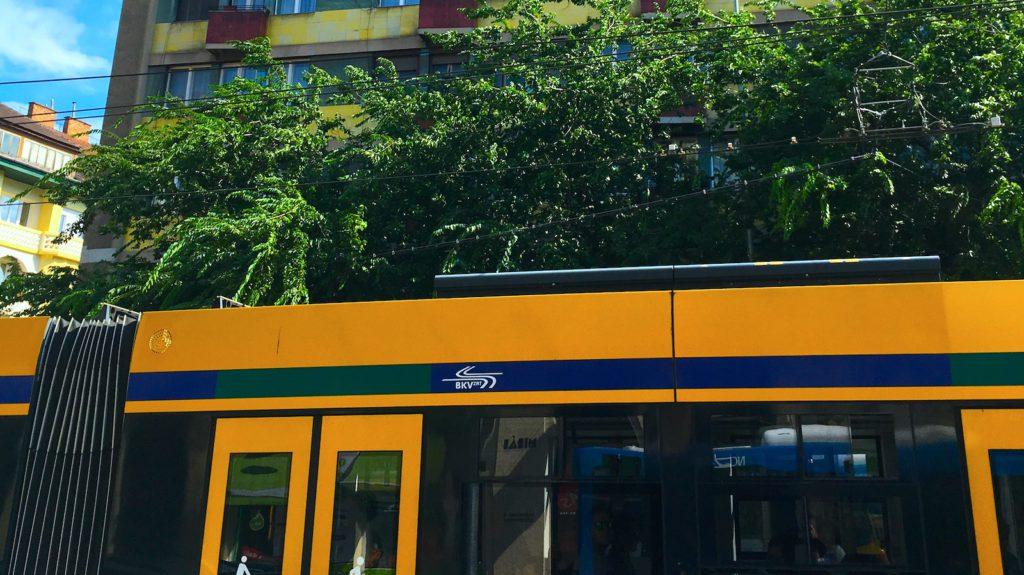 Tram in Budapest - Transportation Tour