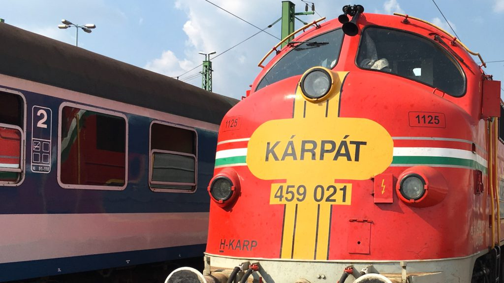 Retro train at Déli railway station, Budapest - Transportation Tour