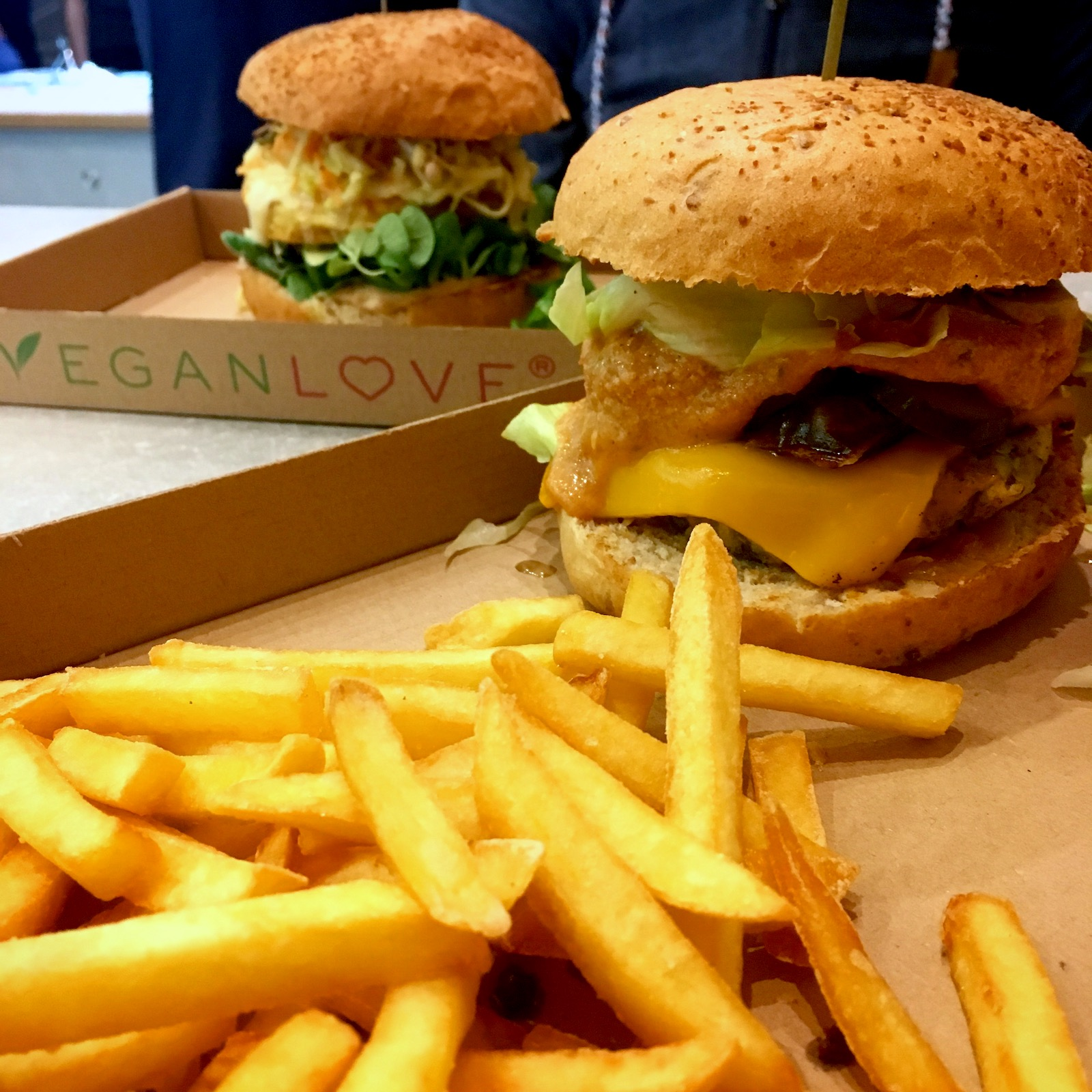 Vegan Love Budapest - one of the best vegan burgers in Budapest