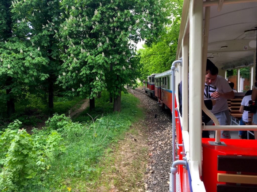 The Children's Railway is one of the most unique things you find in Budapest