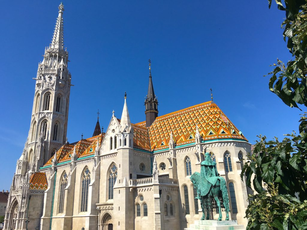The Matthias Church of Budapest